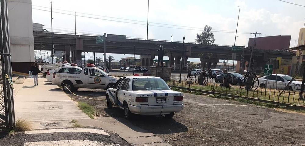 Morelia: Hombre fallece por covid-19 en un taxi; fue llevado a la base de Bomberos