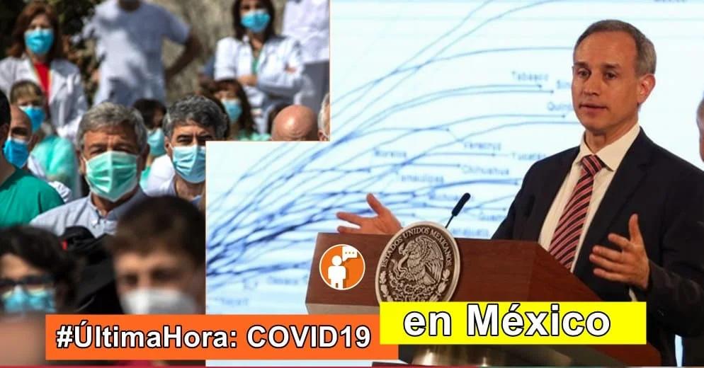 México registra hoy el mayor número de contagios; ocupación hospitalaria llega al 33 por ciento