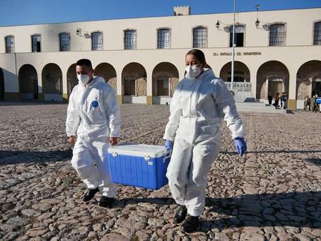 Arranca en Michoacán aplicación de vacunas contra el covid-19 a adultos mayores