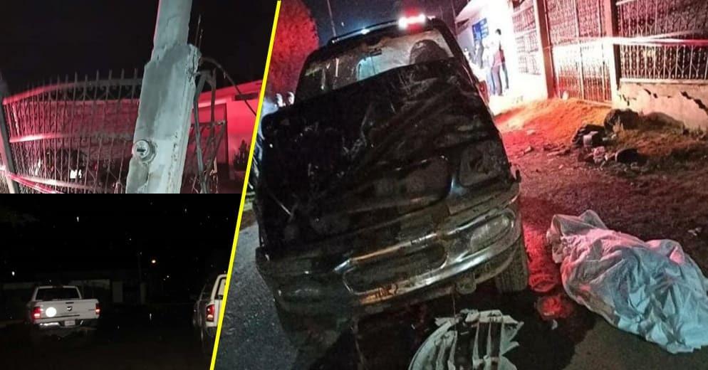 #Michoacán: Camioneta conducida por menores de edad genera accidente vial con 5 fallecidos