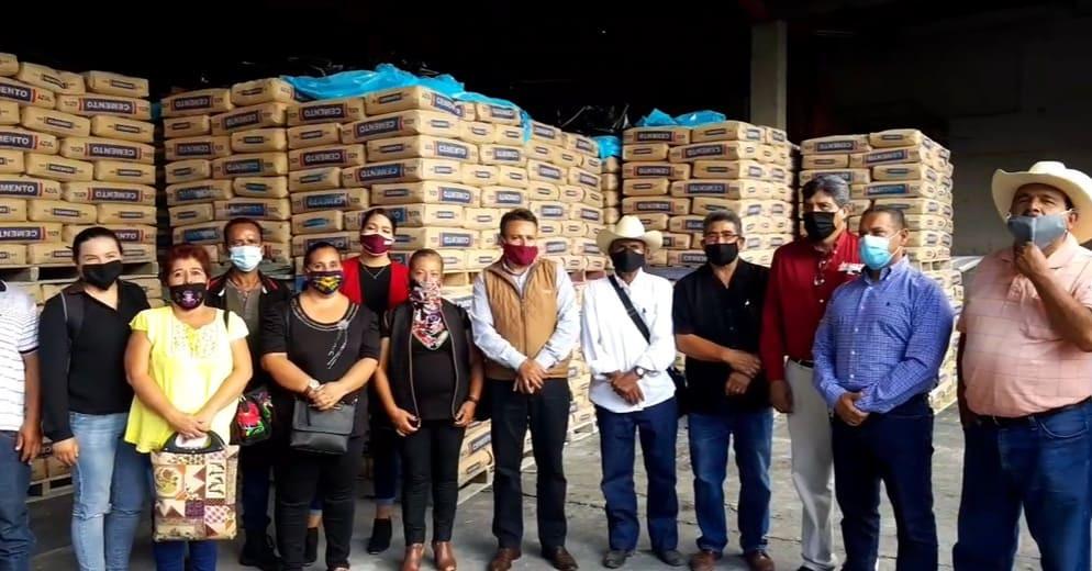 Distribuirán más de mil 100 toneladas de cemento para obras urbanas de Acámbaro