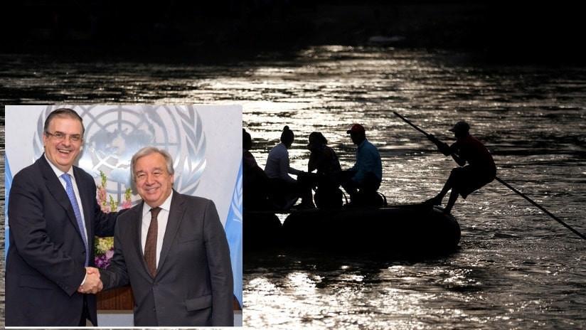 ONU apoyará a México en plan para controlar la migración hacia EE.UU