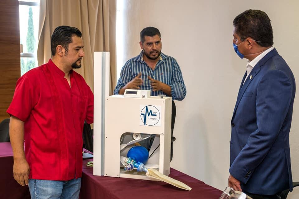 #UMSNH: Diseñan prototipo de respirador artificial para enfrentar el COVID-19