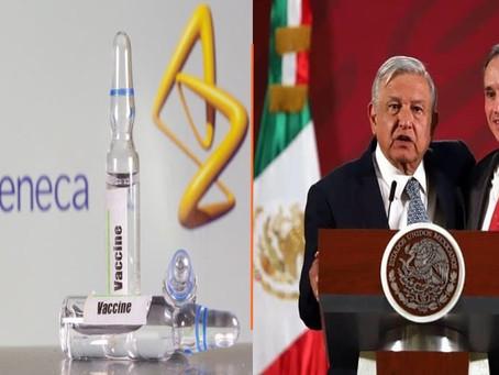 La próxima semana arranca vacunación de abuelitos; llegarán 1 millón de vacunas AstraZeneca: AMLO