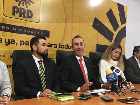 Que Se Serenen Seguidores De Morena XQ Andan Agresivos: PRD Michoacán