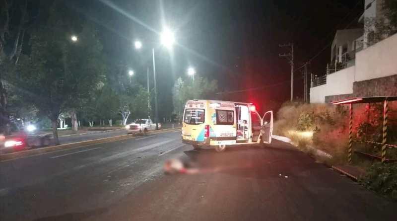 Fallece atropellado moreliano de la 3ra edad en la Morelia-Mil Cumbres