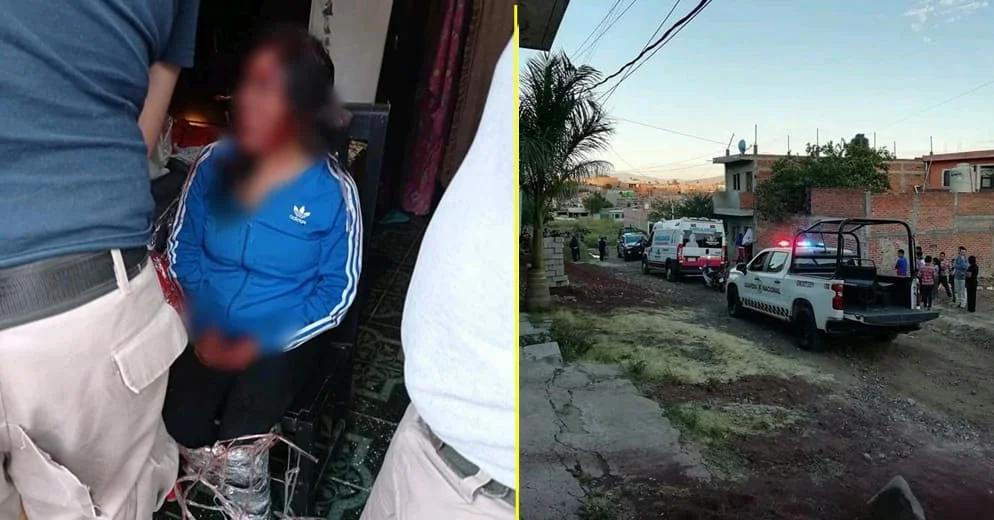 #Michoacán: Se hace pasar por trabajadora social para robar a una bebé; la detienen los vecinos