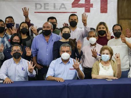 En unidad, defenderemos bondades de la 4T en Michoacán: Raúl Morón