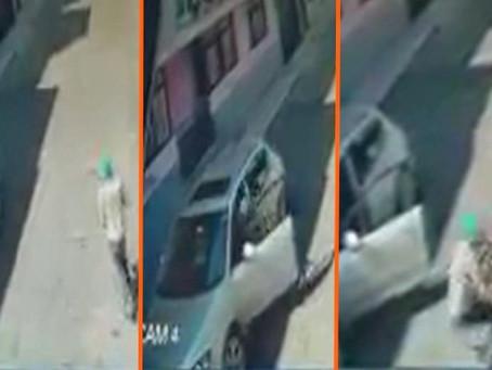 Morelia: Quería robarse un carro, pero su dueño le propinó una golpiza (+Video)