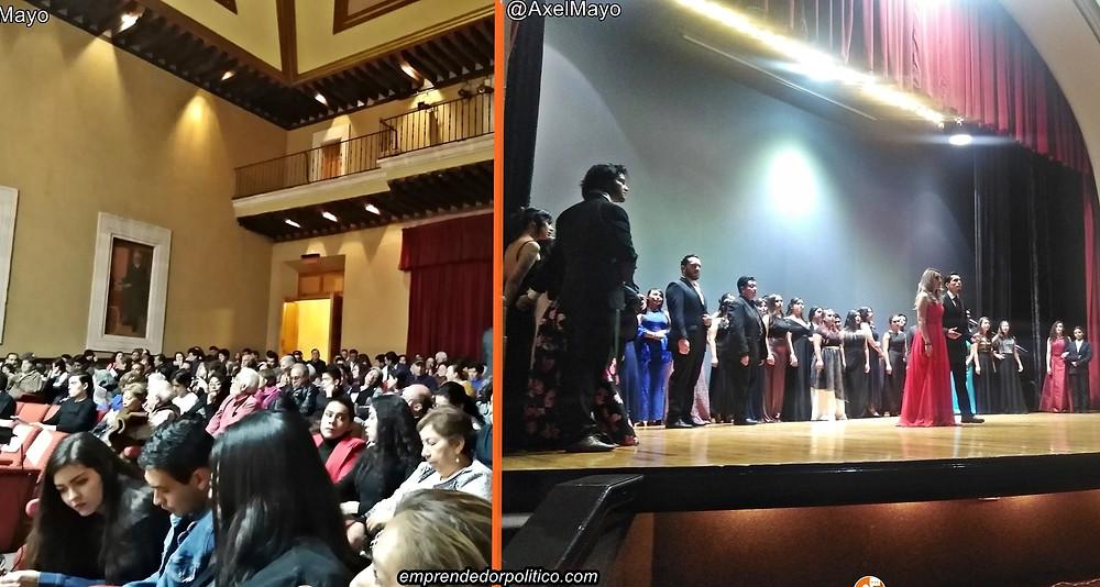 Con éxito, concierto científico de fin de año en el centro cultural universitario de la #UMSNH