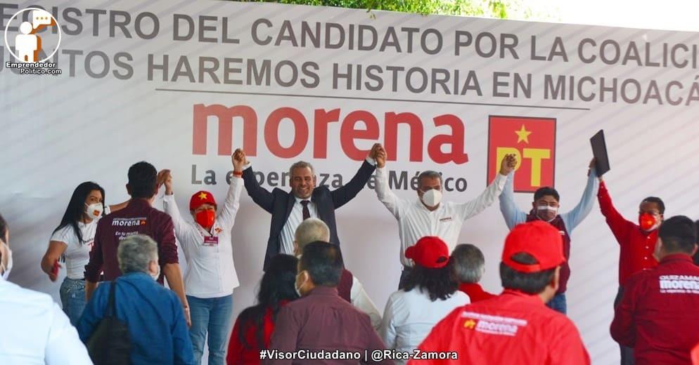 Con Alfredo Ramírez Bedolla, preferencia por Morena se dispara en #Michoacán