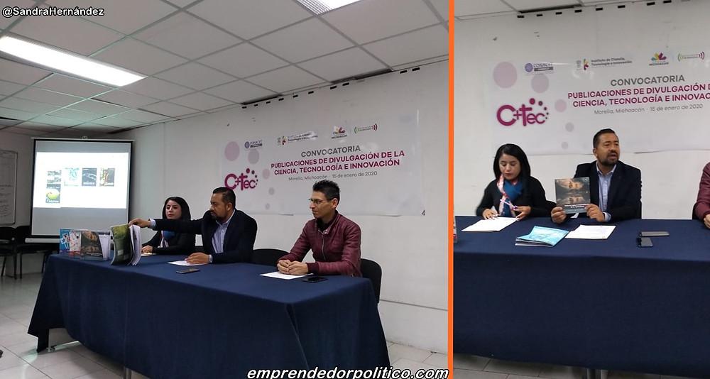 Lanzan en Michoacán, convocatoria para divulgar ciencia con respaldo del CONACYT