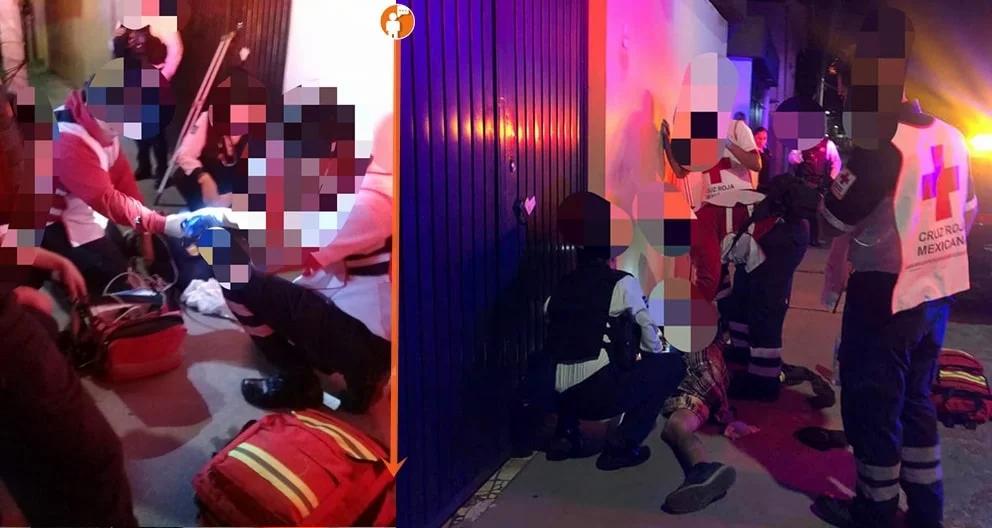 Cruz Roja y Policías salvan vida a hombre que tenía dificultades para respirar a causa de drogas