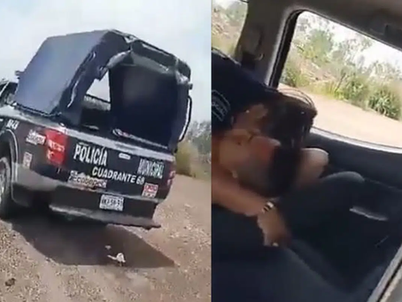 México: Los corren por calientes; cachan a dos polis teniendo sexo en horas de servicio (+Video)