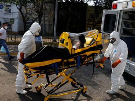 Reporta México RÉCORD de CONTAGIOS Covid; 16 mil casos en 24hrs
