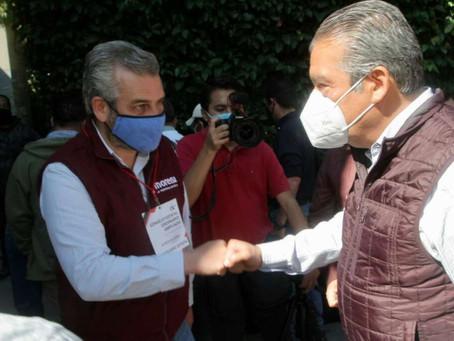 Firme, candidatura de Morón; la 4T avanza con solidez en Michoacán: Alfredo Ramírez