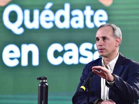 """PANDEMIA por COVID """"está EMPEZANDO A SUBIR EN MÉXICO"""", advierte López-Gatell"""