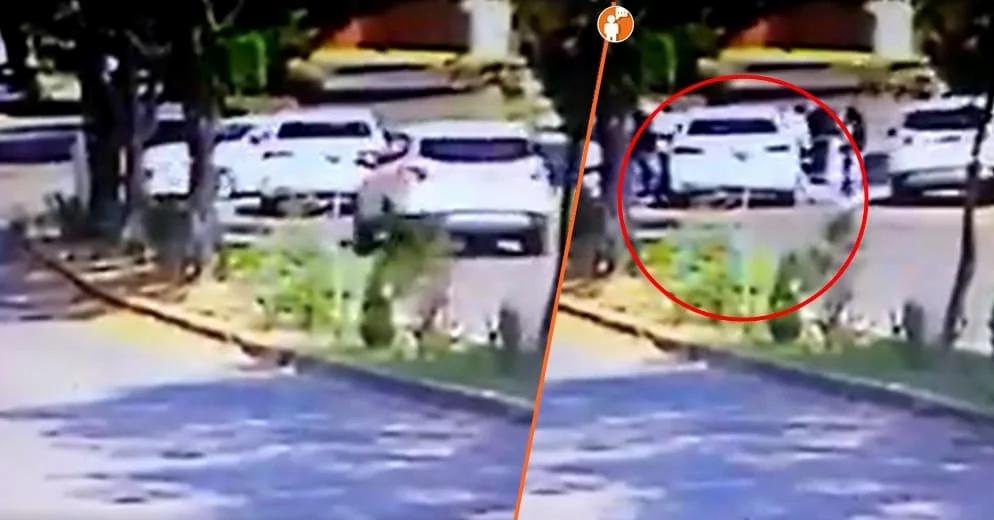 A punta de pistola, así despojaron de su vehículo a una pareja moreliana (+Video)
