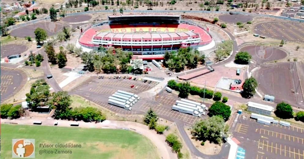 Se cumplió lo inevitable, camiones de mudanza saqueron el Estadio Morelos