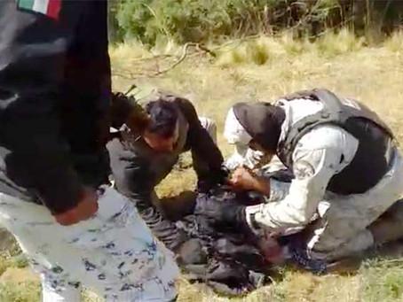 Talamontes machetean a elementos de la Guardia Nacional en EDOMEX (+Video)