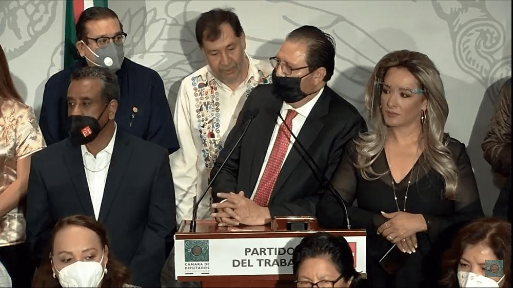 """""""No tenemos la duda de que tenemos la legitimidad para presidir la Cámara"""": Reginaldo Sandoval"""