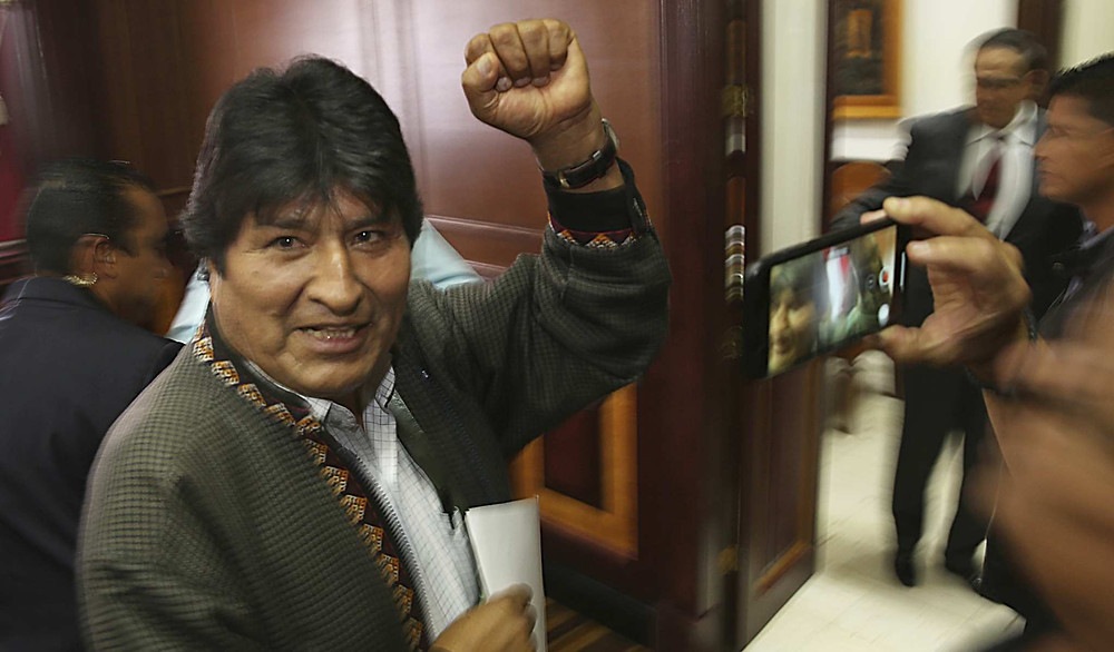 Evo Morales deja asilo en México y se nos va como refugiado a Argentina