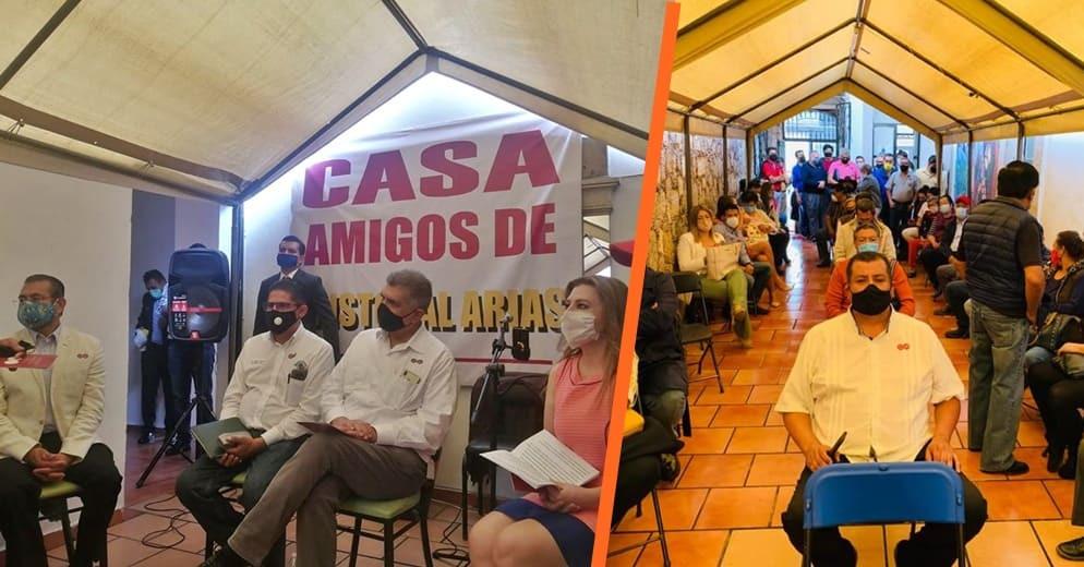 """Nacen las """"casas de amigos"""" de Cristóbal Arias para atender peticiones y demandas de la población"""