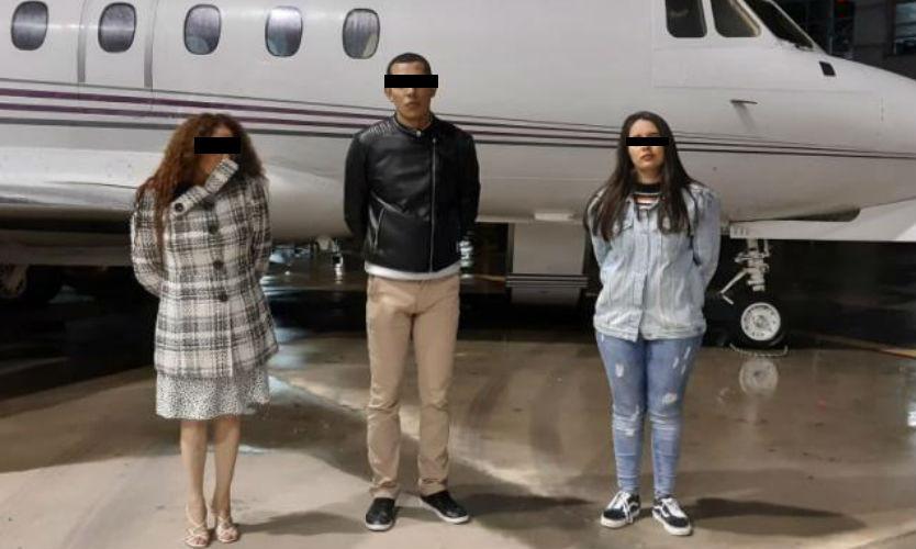 2 jóvenes chilangos contratan jet para traer 164 kilos de coca de Colombia pero todo les salió mal