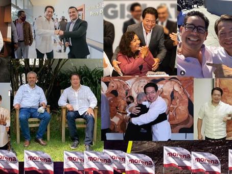 Se desata la Mario-manía: Estos actores de Morena Michoacán respaldan al nuevo dirigente nacional