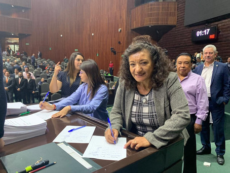 Diputada María Chávez presenta iniciativa de reforma para el art. 73 de la Ley General de Educación