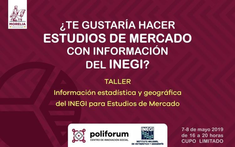 Curso De Estudio De Mercado Con INEGI ¡Sin Costo!