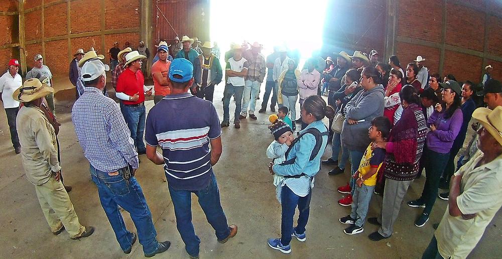 Diputado Salvador Arvizu entrega más de 40 toneladas de fertilizante a 15 comunidades de Morelia