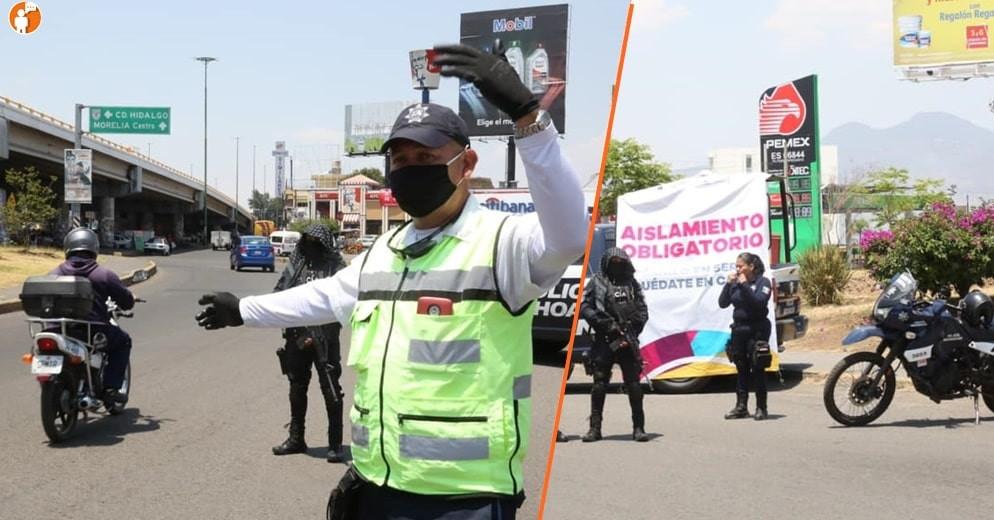 Más de 5 mil michoacanos han firmado Cartas de Responsabilidad Ciudadana en filtros sanitarios