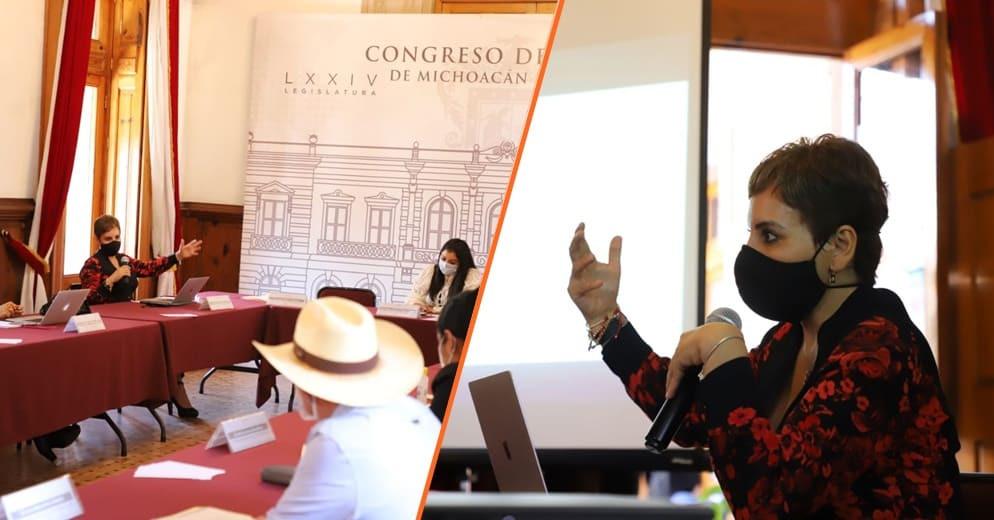 Presenta SSM estrategia contra COVID-19 en el Congreso del Estado