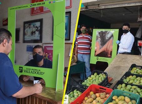 Para impulsar la economía en medio de la pandemia Caja Morelia Valladolid da herramientas a negocios