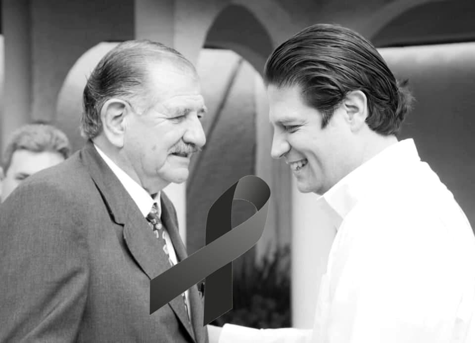 Fallece padre de Alfonso Martínez Alcázar este viernes