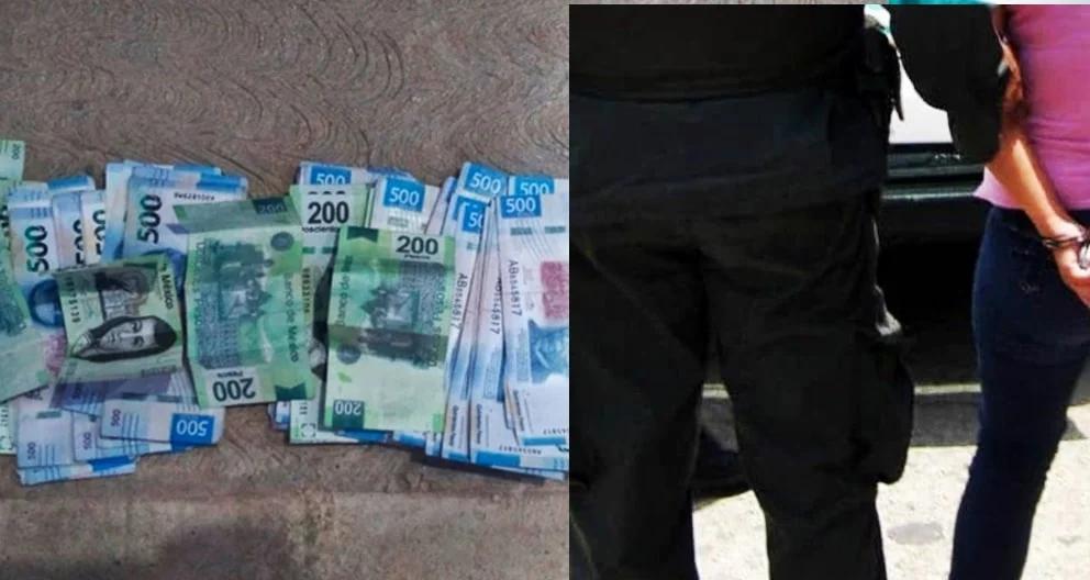 #PasaEnMichoacán: Detienen a mujer con billetes falsos