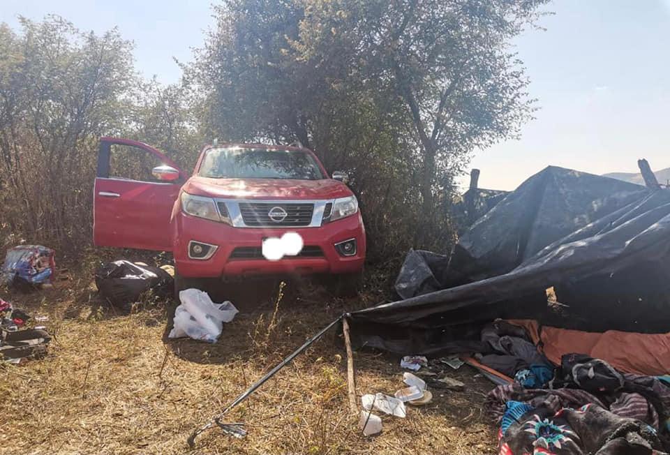 Michoacán: Desmantelan narco-campamento con un León, vehículos y ropa táctica (+Fotos)