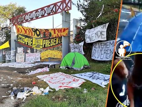 """Afición Monarcas sitia el Estadio Morelos; """"Nadie entra, nadie sale"""" desde ayer (+Videos)"""