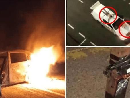 Comando roba 3 bancos, pone explosivos y toma de rehenes, el saldo fue de 3 muertos (+Video)