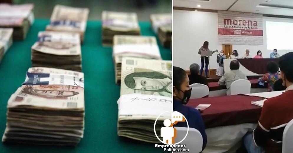 Acusan en Consejo Estatal de Morena, uso discrecional de  prerrogativas, ¿En que se gastó 200 MDP?