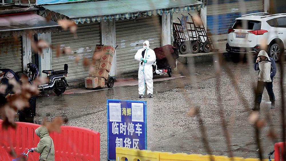 [IMÁGENES] Este es el mercado donde surgió el coronavirus chino; vendían animales vivos y muertos
