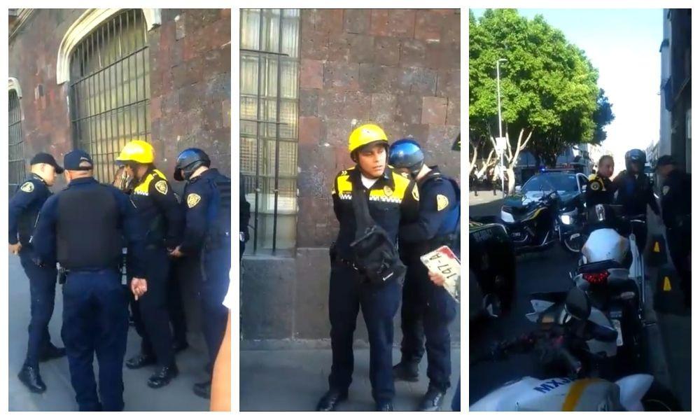 Por pedir mordida, detienen a 4 elementos de la Policía de Tránsito (+Video)