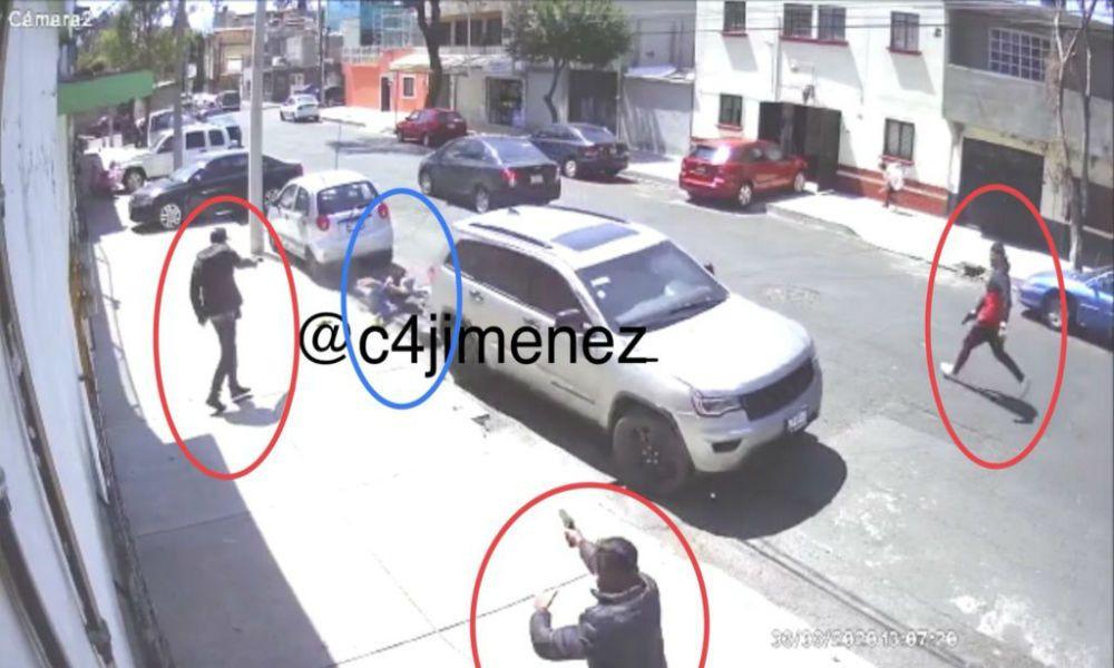 Difunden video en que 3 sicarios acribillan a una de las novias de La Unión
