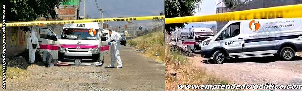 Matan a chofer de la Ruta Rosa 1 frente a los pasajeros en la conurbación Morelia-Tarímbaro
