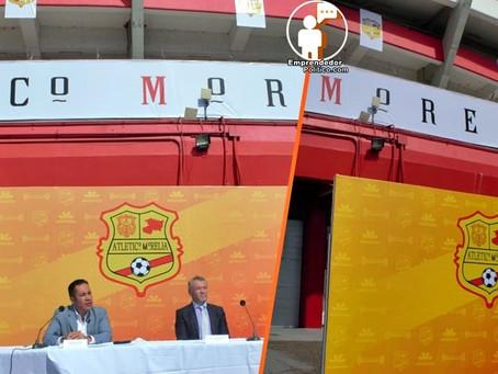 En el Coloso del Quinceo presentan de manera oficial al equipo Atlético Morelia