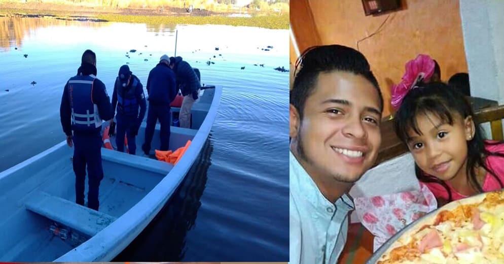 Por 3er día consecutivo, buscan a Miguel y a su hija en el Lago de Pátzcuaro