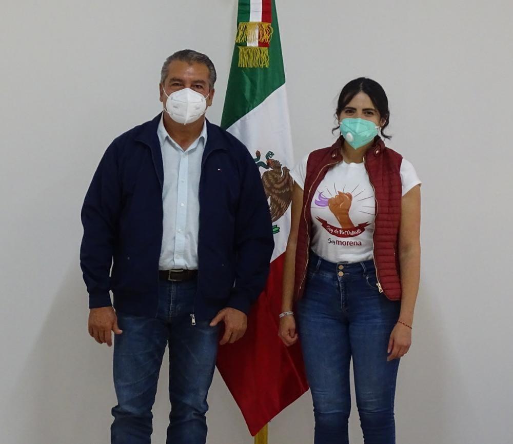 En la 4T cerramos filas por Michoacán y Morelia: Giulianna Bugarini