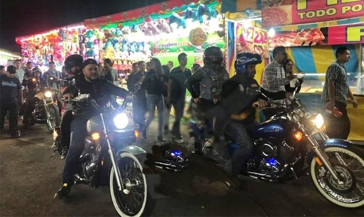 VIDEO: un chopper armando dentro de la #ExpoFiestaMichoacán2019; Policía No Realiza Detención