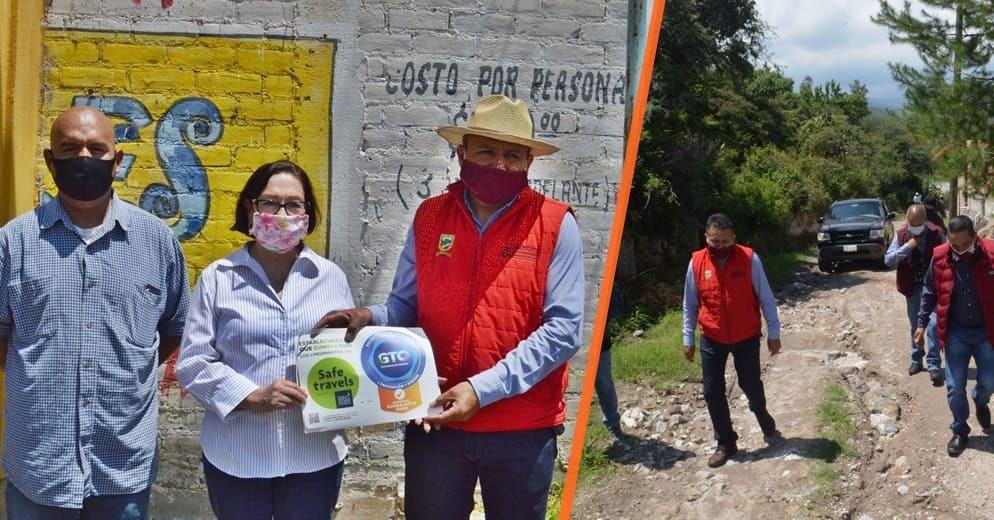 Gobierno de Acámbaro apoya a balnearios para reactivar la zona turística del municipio